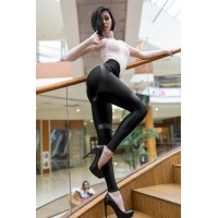 "Лосины Leggins Correct Strip Skin Edition ""Black"""