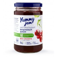 Низкокалорийный джем Yummy Jam вишневый (350г)