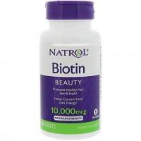 Biotin 10000 mcg (100таб)