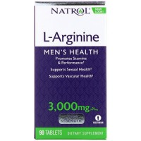 l-arginine mens health 3000 mg (90таб)