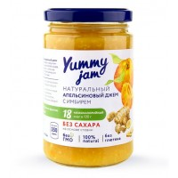 Низкокалорийный джем Yummy Jam апельсиновый (350г)