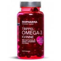 Trippel Omega-3 Kvinne (120капс)